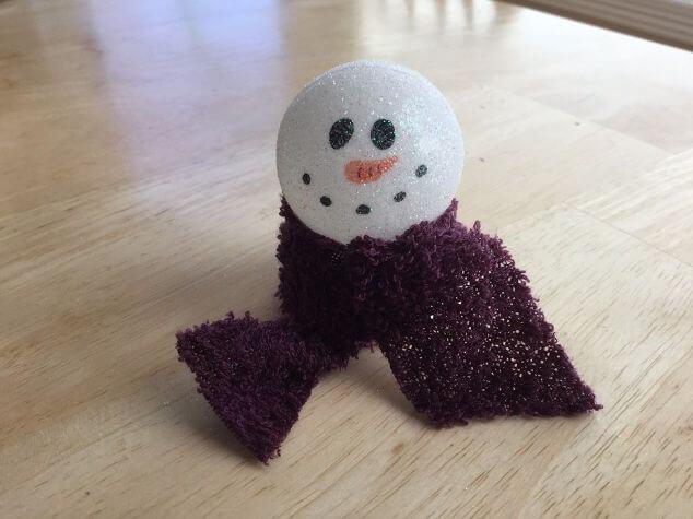 DIY Easy Winter Light Up Snowman Craft!