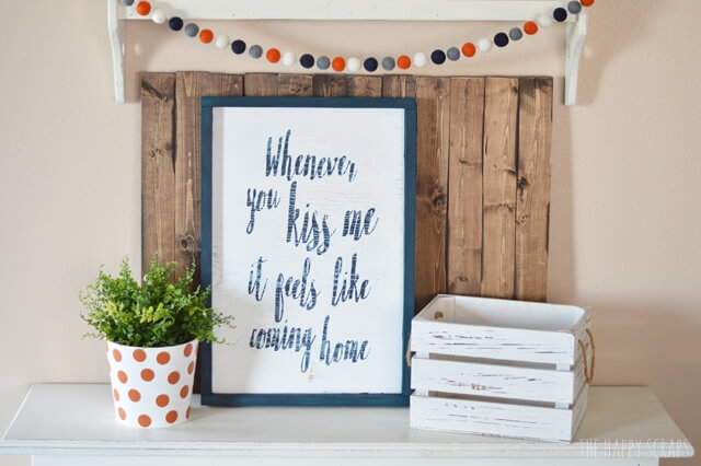 DIY Farmhouse Sign - Christmas DIY