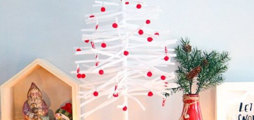 DIY Pipe Cleaner Christmas Tree (3)