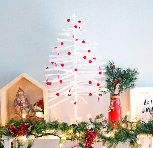 DIY Pipe Cleaner Christmas Tree (3)