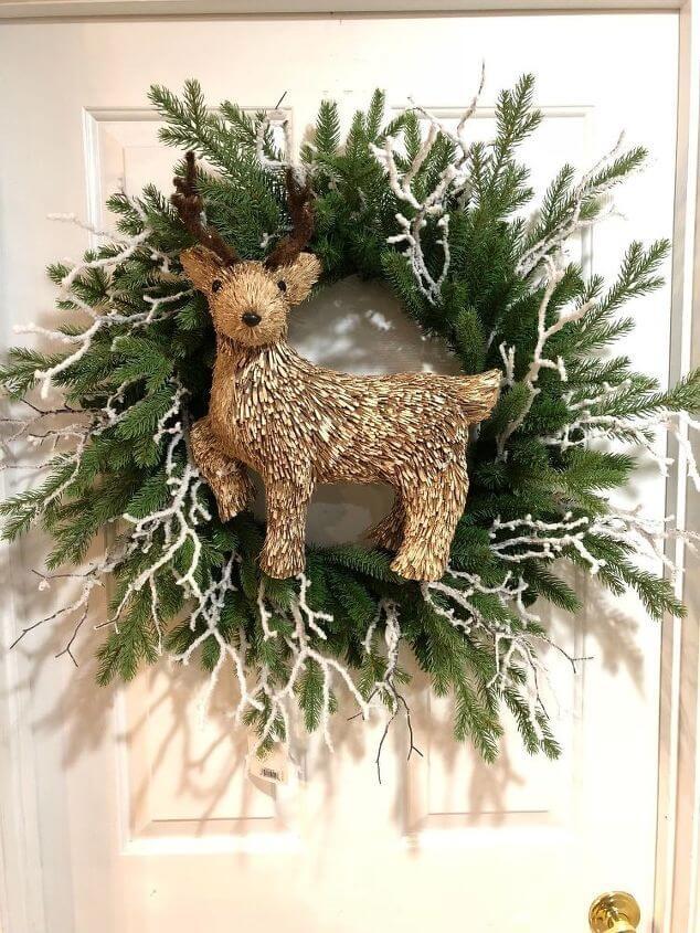 DIY Rustic Christmas Wreath - Christmas DIY