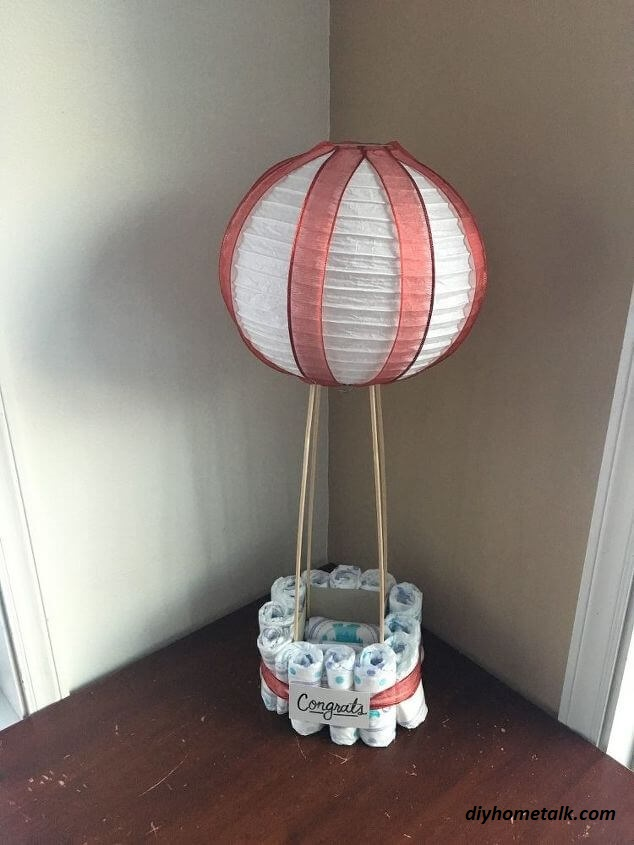 6 Unique Diaper DIY Displays That Aren't Cakes