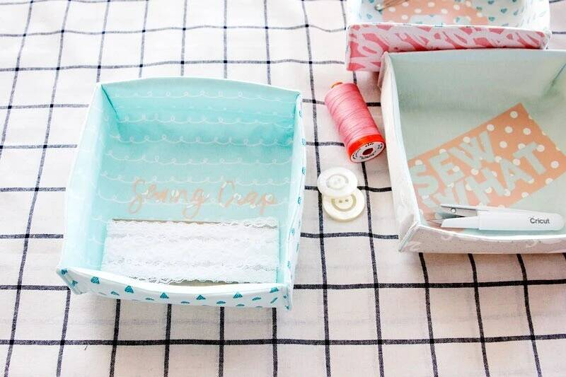 How To Sew A Textile Box Made Of Fabric