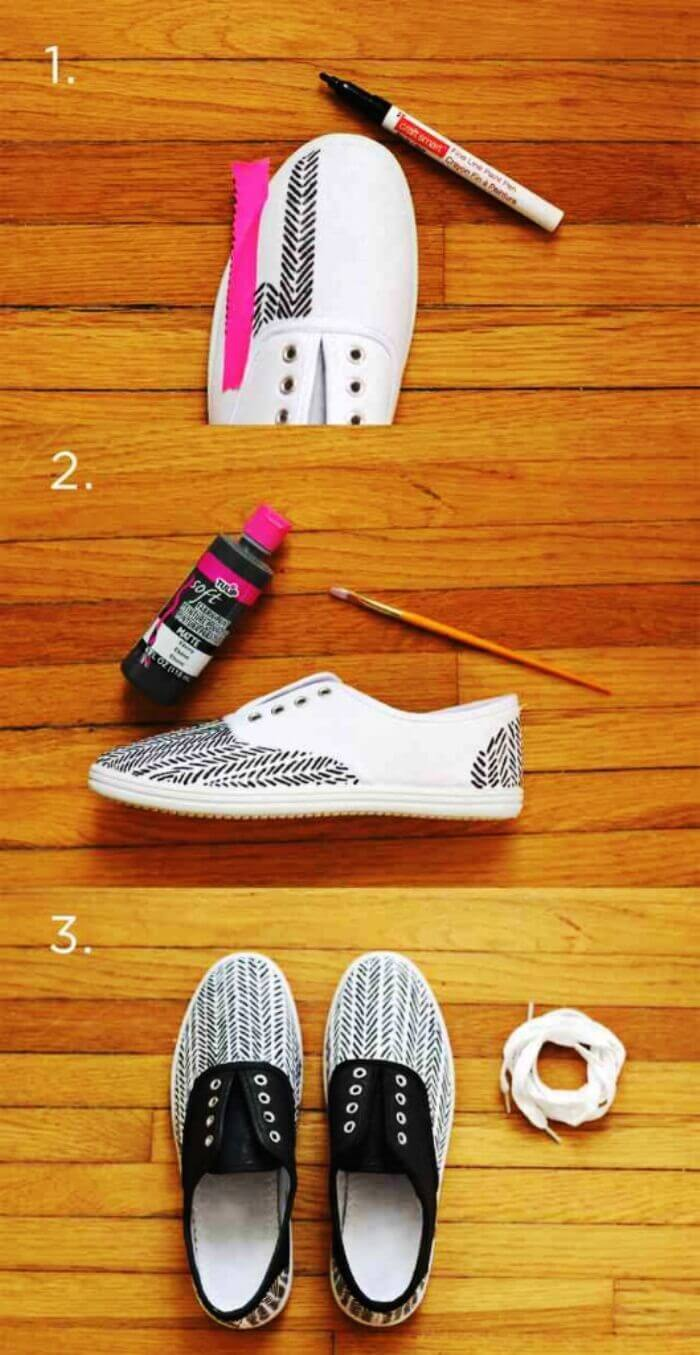 10 real ways to remake sneakers