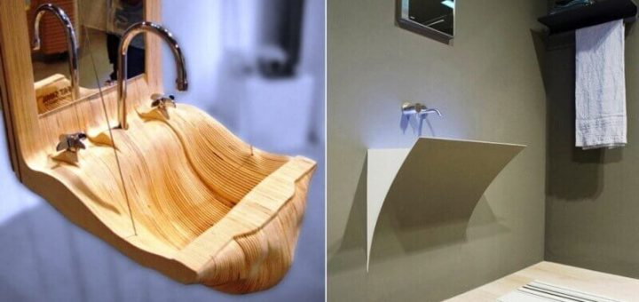 12 Unusual Sinks For The Bathroom