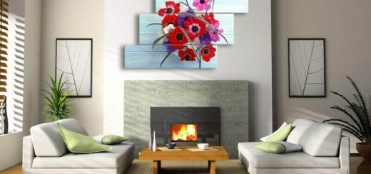Modular Paintings Ideas In Interior
