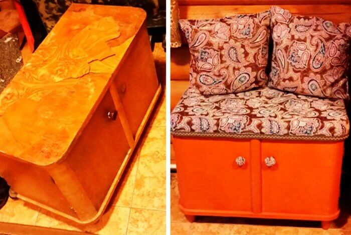 Original ideas On How To Remake Old Furniture Into Stylish Home Decoration