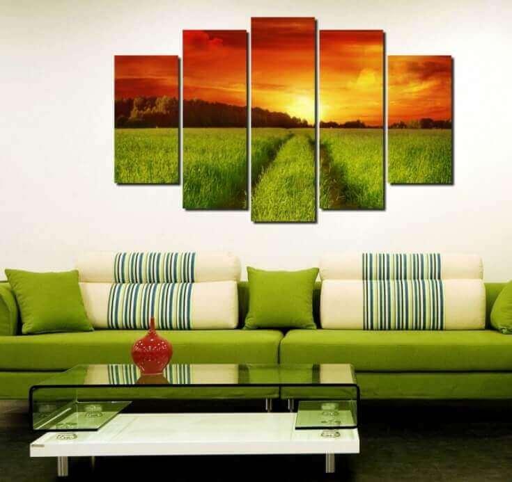 Modular Paintings Ideas In Interior