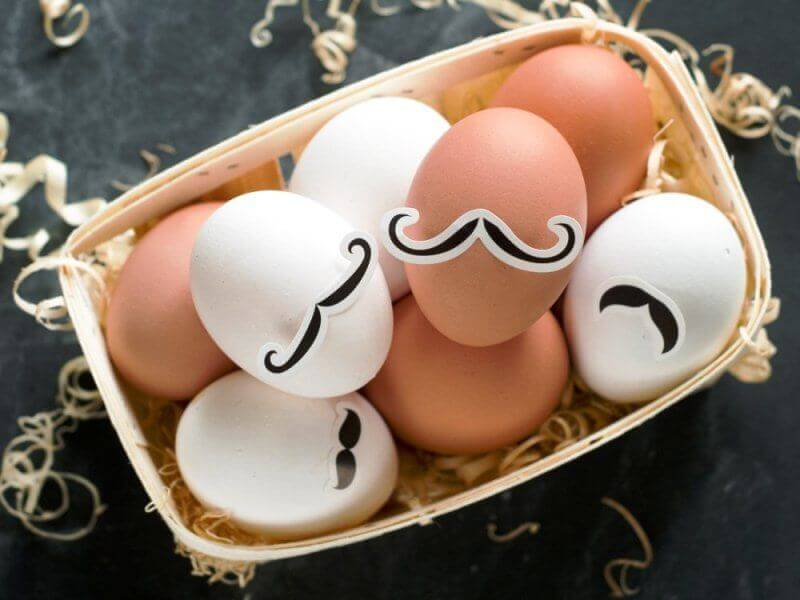 Unusual ideas for Decorating Easter Eggs