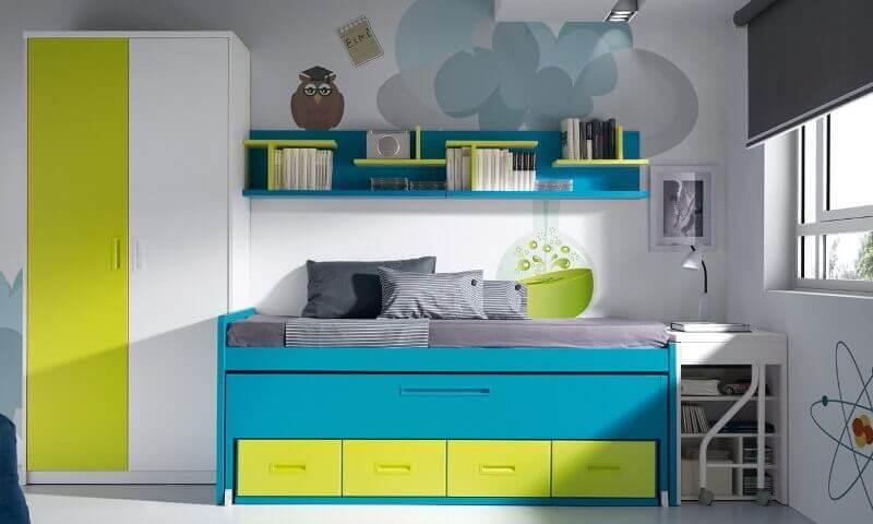 Turquoise Kids Room