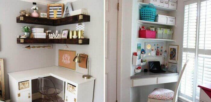 12 Ideas On How To Use The Space In The Corners Of Your Home