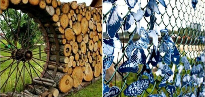 12 Unusual Fences That Will Decorate Any Home
