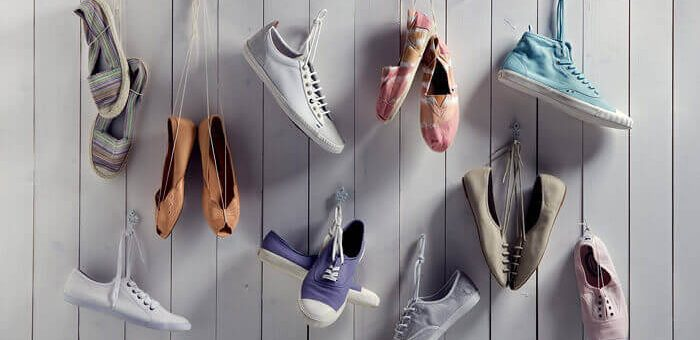 12 creative ideas for storing shoes