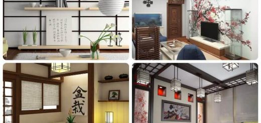 Japanese style in the interior of 2020