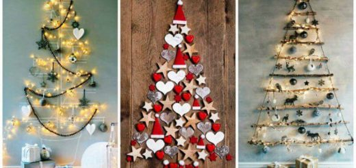 12 DIY Christmas Trees For The New Year 2021