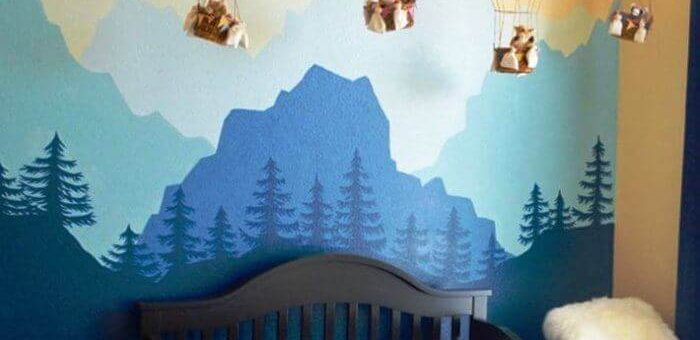 DIY Children's Room Decor with Balloons