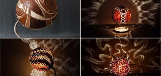 12 Creative DIY Lamps and Chandeliers
