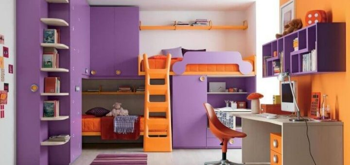 Unusual Design of Children's Rooms